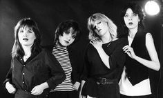 Nike, Kajsa Grytt, Liten Falkeholm och Malena Jönsson i Tant Strul, 1983- Foto: Scanpix