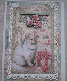Shabby Christmas card - Scrapbook.com