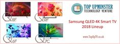 Everything you need to know about Samsung QLED line of TV for From to (high-end to entry-level models) as well as their prices. Tv Accessories, Entry Level, Smart Tv, Best Tv, Need To Know, Samsung, Technology, Electronics, Tech