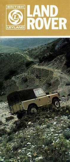 Vintage Land Rover Ad