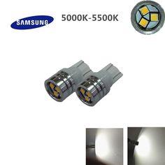 $4.50 (Buy here: https://alitems.com/g/1e8d114494ebda23ff8b16525dc3e8/?i=5&ulp=https%3A%2F%2Fwww.aliexpress.com%2Fitem%2F2pcs-T10-Samsung-2323-3smd-chips-High-Power-3W-5000K-5500K-Plate-Interior-194-W5W-car%2F32726204744.html ) 2pcs*T10 Samsung 2323 3smd chips High Power 3W 5000K-5500K Plate Interior 194/ W5W car Bulbs Light Lamp parking car light source for just $4.50