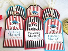 Pirate Goody Bag Tags - Etsy.