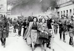 """""""After invading, Nazis used pre-war lists of gun owners to confiscate firearms, and many gun owners simply disappeared. Following confiscation, the Nazis were free to wreak their evil on the disarmed populace, such as on these helpless Jews from the Warsaw Ghetto."""""""