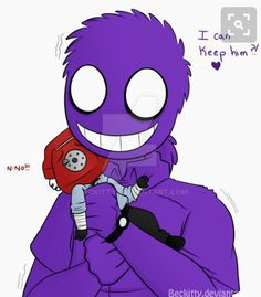 FNaF: Too Excited for this~ by Beckitty on DeviantArt<---- Schmew… Vincent Fnaf, Fnaf Security Guards, Fnaf Night Guards, Fnaf Drawings, Kawaii Drawings, Im A Loser, William Afton, Fnaf Sister Location, Funny Comic Strips