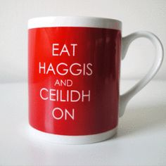 scottish mug (ceilidh is a party)