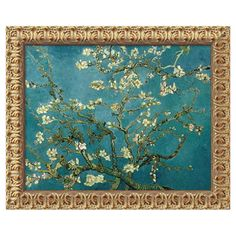 Framed canvas print of Van Gogh's Almond Blossom, 1890.  Product: Framed canvas printConstruction Material: