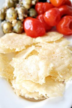 Parmesan Crisps cheese and cracker all in one These are too easy to be considered a recipe, but I wanted to share them anyways. Perfect to add to a salad. We LOVED them with prosciutto and olives, and my kids eat them as is. I love when you find a recipe that looks impressive …