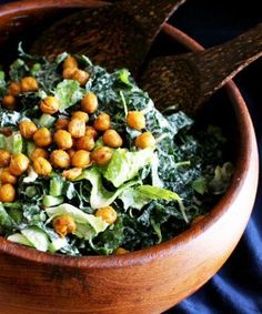 This vegan caesar salad will be your new go-to