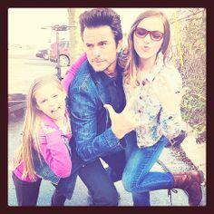 Nashville (ABC) - Chip Esten, Lennon and Maisy Stella