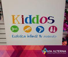 Logotipo en Vinil a Recorte  Cliente: Kiddos
