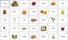 Complete List of Root Vegetables   Flashcards: Fruits and Vegetables