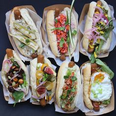 Vegetarian Hotdogs at Le Tricycle: The Parisian street food bike team open up their first restaurant with creative twists on a classic