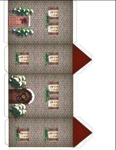 Brick House for Winter Village
