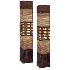 Muebles de mimbre, caña y Ratán - Diseños Chic & Classic de Interior de entrada y salida de Joss y principal