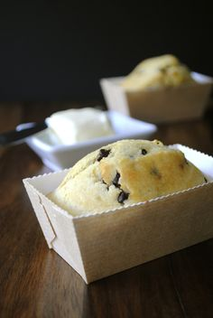 Chocolate Chip Cornbread - Great recipe to make for gifts or having guests over. #baking #dessert