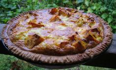 roast pumpkin and feta pie