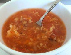 sauer scharf suppe peking gulasch suppe chinesisch rezept china restaurant kochen