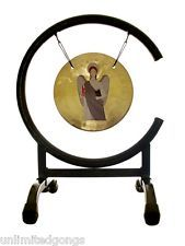 ArchAngel Uriel Prayer Gong on High C Gong Stand with Mallet