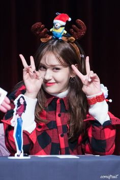 Somi 171124 at Jambangees Fansign Event peace