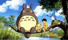 totoro is so cute