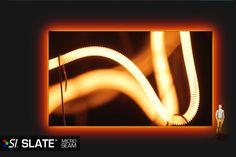 Screen Innovations. Slate seamed