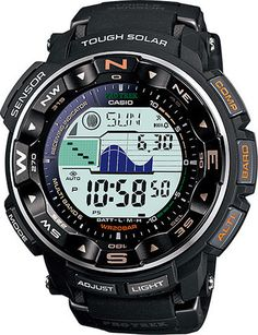 Mens #Casio #ProTrek Multi Field Line #Watch // PRW-2500-1 //