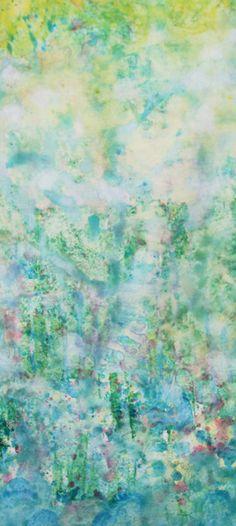 Iris Grace Painting Sunny Day Giclee Print