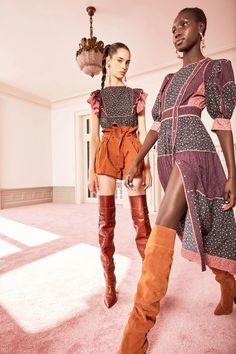 Ulla Johnson Pre-Fall 2020 Fashion Show - - Ulla Johnson Pre-Fall 2020 Collection – Vogue Source by visualresearch 2020 Fashion Trends, Fashion Week, Fashion 2020, Runway Fashion, High Fashion, Womens Fashion, Fashion Fashion, Street Fashion, Hippie Chic
