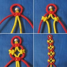 How to tie pretty knots step by step DIY tutorial instructions, How to, how to do, diy instructions, crafts, do it yourself, diy website, art project ideas