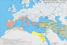 Roman Republican Expansion into Africa and Asia