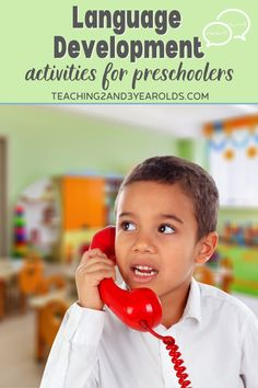 Preschool language development can strengthened by building listening and understanding skills. Each of these 11 activities are fun and playful, while also building children's confidence while using their words. #language #speech #development #preschool #activities #3yearolds #4yearolds #teaching2and3yearolds 3 Year Old Activities, Preschool Learning Activities, Language Activities, Book Activities, Teaching Kids, Communication Development, Language Development, Language Arts, 3 Year Olds