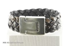 Breites Männer Lederarmband Vintage von MK-Kreativschmuck auf http://de.dawanda.com/product/96448251-breites-maenner-lederarmband-vintage