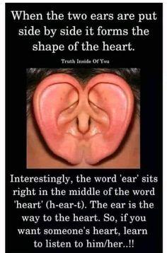 Heart Quotes, Wisdom Quotes, True Quotes, Qoutes, Quotations, Listening Quotes, Listening Ears, True Words, Amazing Quotes