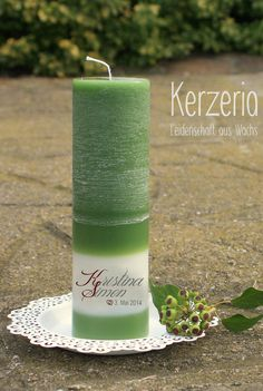 MÄRZenbecher - Hochzeitskerze nach deinen Wünschen von Kerzeria auf DaWanda.com