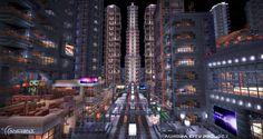Aurora City Project [Minecraft] [01] by NickPolyarush.deviantart.com on @deviantART
