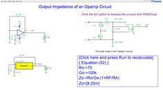 "News in TINA and TINACloud Resources:www.tina.com/resourcesNew simulationsin Chapter ""5. Output Impedance of an Opamp Circuit Simulation with TINACloud: https://www.tina.com/blog/"