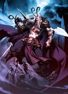 Loki by *GENZOMAN on deviantART