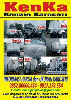 KAROSERI TRUCK TANGKI WATER CANON >> KAROSERI KENKA Canon, Sari, Trucks, Water, Water Water, Saree, Cannon, Truck, Big Guns