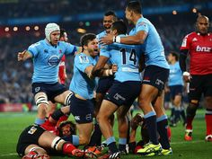 Super Rugby Grand Final 2014   Waratahs v Crusaders   First try