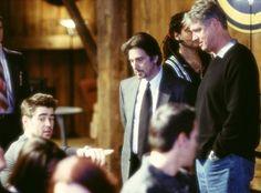 Al Pacino, Roger Donaldson and Colin Farrell in El discípulo (2003)