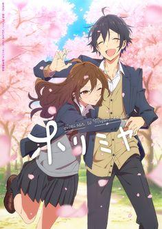 Anime Love, Anime Guys, Manga Anime, Anime Kawaii, Anime Reccomendations, Cute Anime Coupes, Anime Lindo, Horimiya, Manga Covers