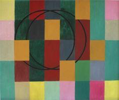 Die Fremden Kreise - Johannes Itten Johannes Itten, Abstract Geometric Art, Josef Albers, Painting Collage, Art Database, Wassily Kandinsky, Op Art, Illustrators, Canvas Art