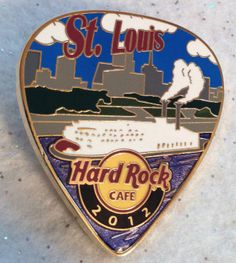 Hard Rock Cafe St Louis Postcard Pick 2012 Le 200 | eBay