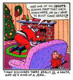 funny santa, christmas pictures