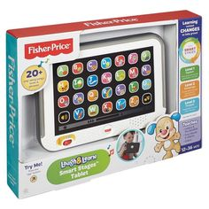 Fisher Price Laugh & Learn Smart Stages Tablet Toddler Child Boys Girls New Toy  | eBay