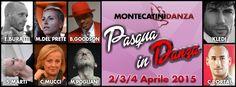 Pasqua in Danza con Le Eccellenze della Danza Nazionale ed Internazionale!!!! 2 3 e 4 Aprile 2015 Montecatini Danza vi aspetta per vivere 3 giorni di Grande Danza!  www.montecatinidanza.it