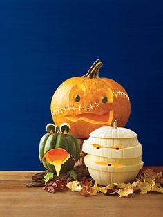 Cool Pumpkin Carvings halloween decor ideas.