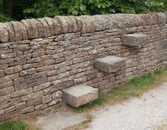 At The National Stone Centre, Derbyshire, UK. Gabion Stone, Stone Masonry, Dry Stone, Pebble Stone, Garden Entrance, Permaculture, Wall Exterior, Sloped Garden, Landscape Architecture Design