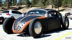Awesome VW rod photographed at the 2011 Oktoberfest car show at Snow Valley Mountain Resort, Big Bear California.