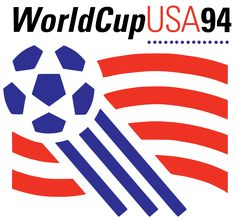 The 1994 FIFA World Cup, hosted by the United States, was the highest attended World Cup in history. Americans might not be huge soccer fans, but we are the world's best bandwagoners. World Cup 94, World Cup Logo, Fifa World Cup, World Football, Soccer World, World Of Sports, Fifa Football, Football Art, Sport Football